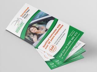 Brochures DL (A4 folded to DL)