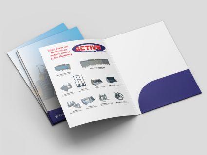 Presentation Folders A4 SRA4 - 219x310mm